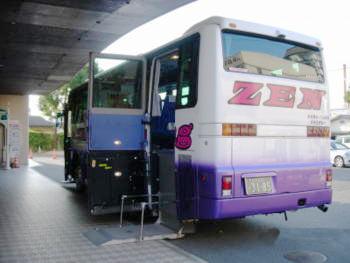 リフト付き福祉観光バス3